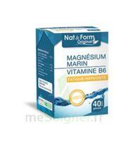 Nat&form Expert Magnésium+vitamine B6 Gélules B/40 à ANGLET