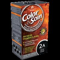 COLOR&SOIN Kit coloration permanente 2A brun azuré à ANGLET