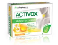 Activox Sans Sucre Pastilles Miel Citron B/24 à ANGLET