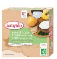 BABYBIO Gourde Brassé Lait de coco Pomme Poire à ANGLET