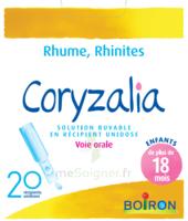 Boiron Coryzalia Solution Buvable Unidose B/20 à ANGLET