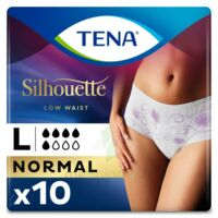 Tena Lady Silhouette Slip Absorbant Blanc Normal Large Paquet/10 à ANGLET