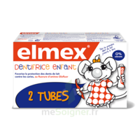 ELMEX DUO DENTIFRICE ENFANT, tube 50 ml x 2 à ANGLET
