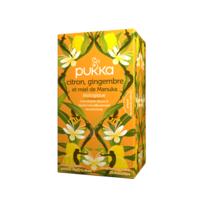 PUKKA BIO Citron, Gingembre et Miel de Manuka Tisane immunité Citron Gingembre Miel de Manuka 20 Sachets à ANGLET