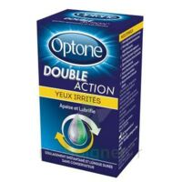 Optone Double Action Solution Oculaire Yeux Irrités Fl/10ml Promo à ANGLET