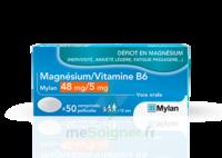 Magnesium/vitamine B6 Mylan 48 Mg/5 Mg, Comprimé Pelliculé à ANGLET