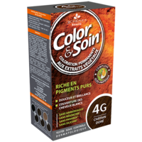 COLOR&SOIN Kit coloration permanente 4G châtain doré à ANGLET