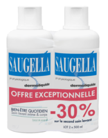 Saugella Emulsion Dermoliquide Lavante 2fl/500ml à ANGLET