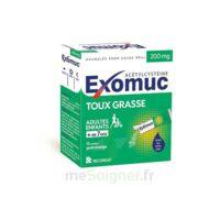 Exomuc 200 Mg, Granulés Pour Usage Oral En Sachet 15 Sachets/2g à ANGLET