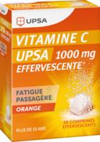 Vitamine C Upsa Effervescente 1000 Mg, Comprimé Effervescent à ANGLET