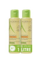 Aderma Exomega Control Huile Nettoyante Emolliente Duo 2x500ml à ANGLET